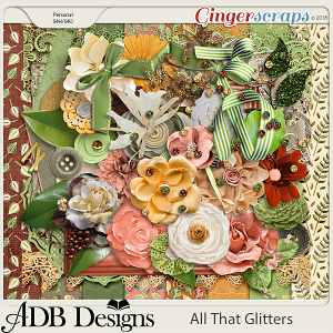All That Glitters Page Kit