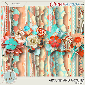 Around And Around Borders by Ilonka's Designs