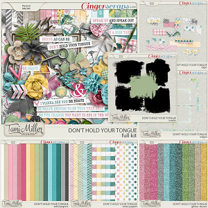 Don't Hold Your Tongue Bundle by Tami Miller Designs