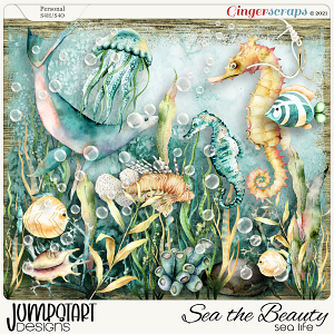 SEA the Beauty {Sea Life}