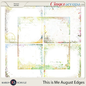 This is Me August Edgers by Karen Schulz