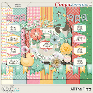 All The Firsts by Dandelion Dust Designs