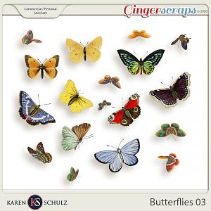 Butterflies 03 by Karen Schulz