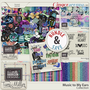 Music to My Ears Bundle by Tami Miller and Aimee Harrison