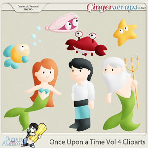 Doodles BY Americo: Once Upon a Time Vol 4 Cliparts