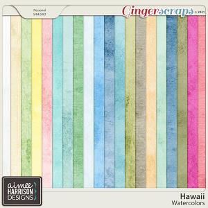 Hawaii Watercolors by Aimee Harrison