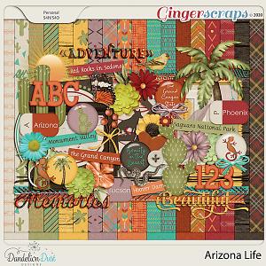 Arizona Life Digital Scrapbook Kit By Dandelion Dust Designs
