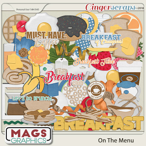 On The Menu BREAKFAST PACK by MagsGraphics