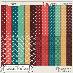Flawsome - Extra Papers by Connie Prince
