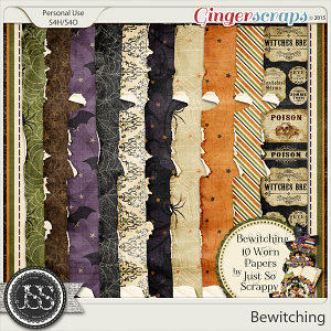 Bewitching Worn and Torn Papers