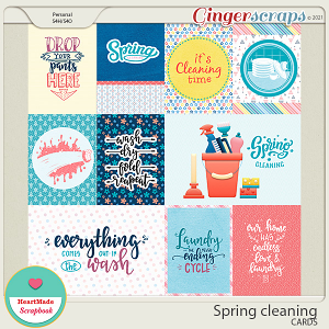 Spring cleaning - cards