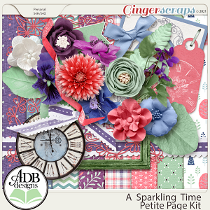 A Sparkling Time Petite Kit by ADB Designs