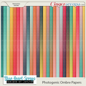 Photogenic Ombre Papers