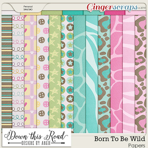 Born To Be Wild Paper Pack