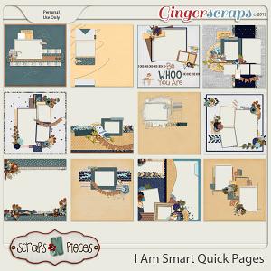 I Am Smart Quick Pages by Scraps N Pieces