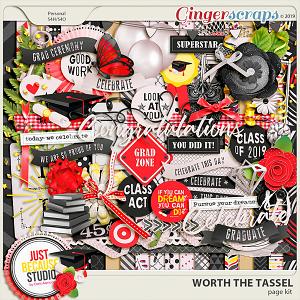 Worth The Tassel Page Kit by JB Studio