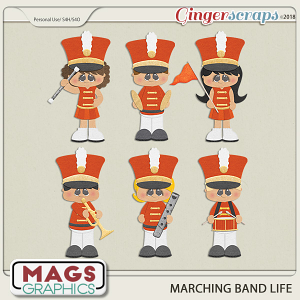 Marching Band Life ORANGE BAND by MagsGraphics