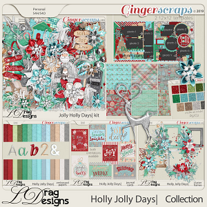 Holly Jolly Days: The Collection by LDragDesigns