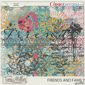 Friends and Family Graffiti by Tami Miller Designs