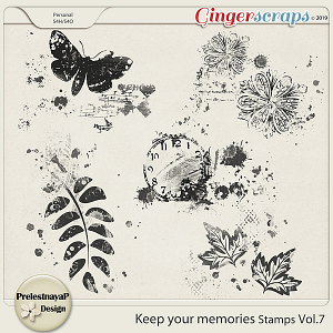 Keep your memories Stamps Vol.7