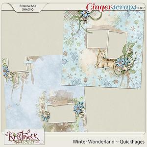Winter Wonderland QuickPages