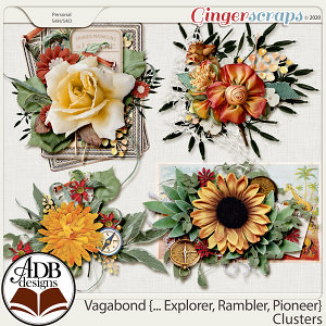 Vagabond, Explorer, Rambler, Pioneer Clusters by ADB Designs