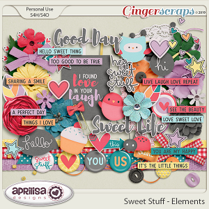 Sweet Stuff - Elements by Aprilisa Designs