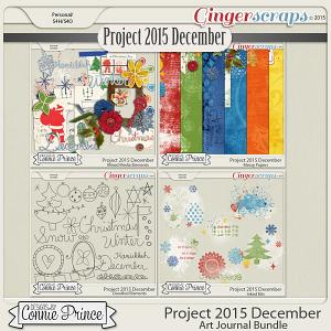 Project 2015 December - Art Journal Bundle