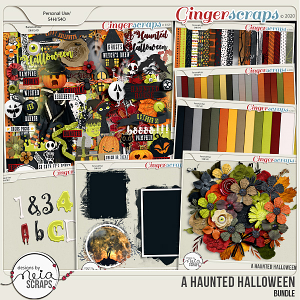 A Haunted Halloween - Bundle - by Neia Scraps