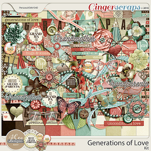 Generations of Love by JoCee Designs