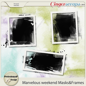 Marvelous weekend Masks&Frames