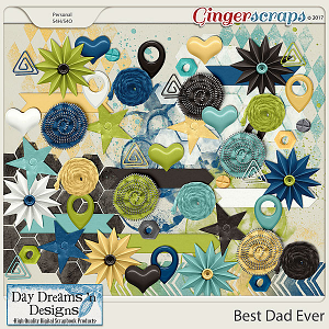 Best Dad Ever {Accents} by Day Dreams 'n Designs