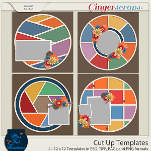 Cut Up Templates By Miss Fish