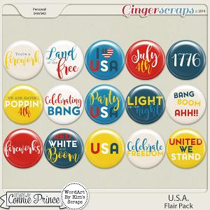U.S.A. - Flair Pack