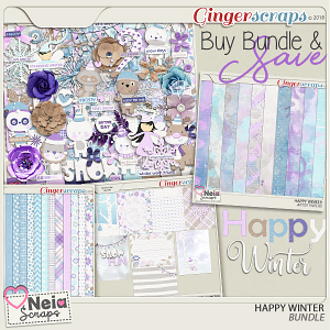 Happy Winter - Bundle - by Neia Scraps