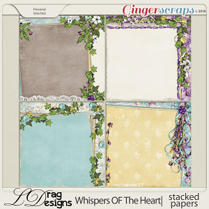 Whispers Of The Heart: Stacked Papers by LDragDesigns