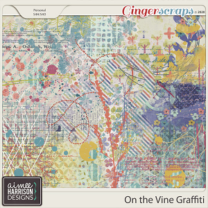 On the Vine Graffiti by Aimee Harrison