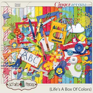 Life's a Box of Colors