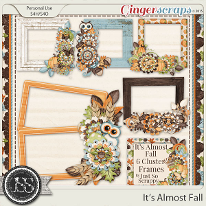 It's Almost Fall Cluster Frames