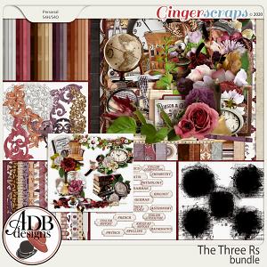 The Three Rs Bundle by ADB Designs