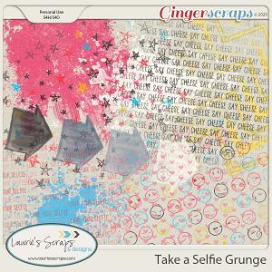 Take A Selfie Grunge