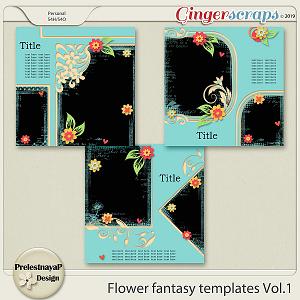 Flower fantasy Templates Vol.1