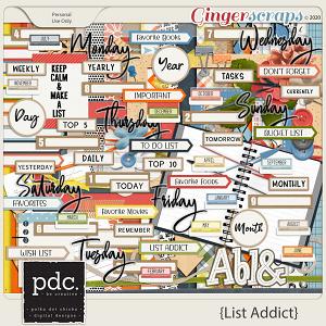 Polka Dot Chicks: List Addict