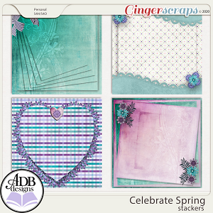 Celebrate Spring Stacked Papers by ADB Designs