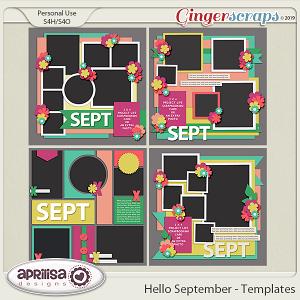 Hello September - Template Pack