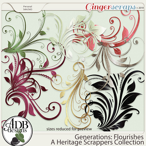 Generations Flourishes by ADB Designs