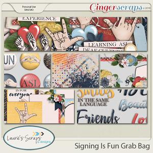 Signing Is Fun Grab Bag