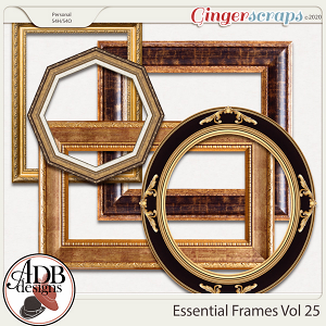 Heritage Resource - Essential Frames Vol 25 by ADB Designs