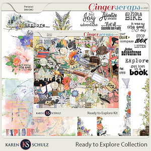 Ready to Explore Collection by Karen Schulz