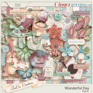 Wonderful Day Page Kit